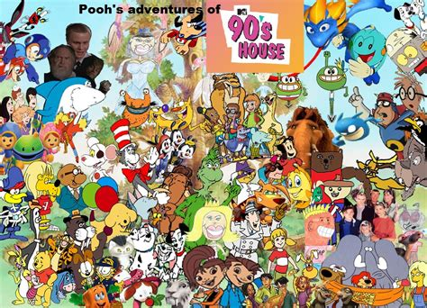 Pooh's Adventures Of 90's House