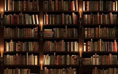 Library Bookshelves Bookshelf Desktop Space Bookcases Wallpapers