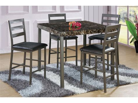 pacific imports dining room table  chairs pc set