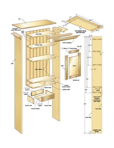 woodwork wood shop cabinets plans  plans