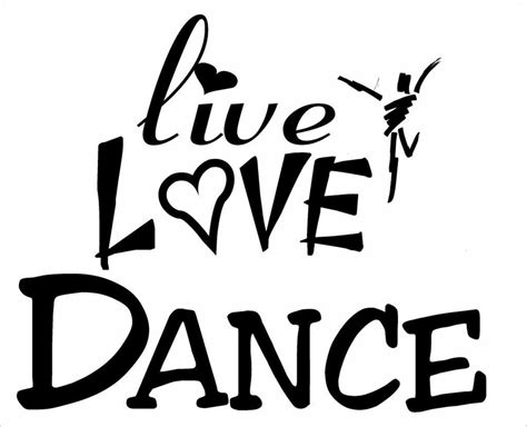choose   love dance logo iron  transfer dance