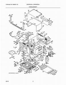 Electrolux Ew30mo55hsa Parts List And Diagram