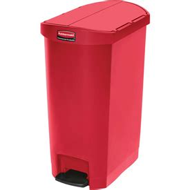 Rubbermaid Slim Jim Storage Shed Shelves by Garbage Can Recycling Free Rubbermaid 174 Slim
