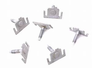 Rear Bumper Hardware Slotted Bolts Pins 98