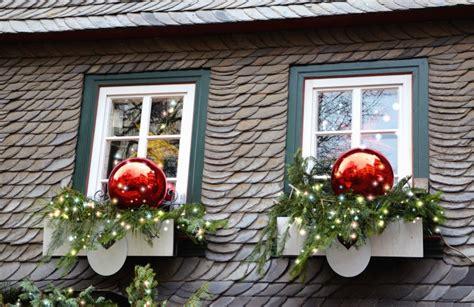 Dekoration, Fenster, Dach, Haus, Weihnachten
