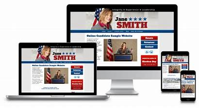 Website Political Campaign Packages Candidate