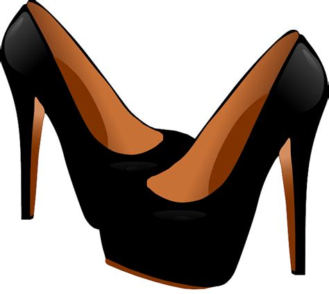 Free vector graphic Heels Shoes Black Fashion - Free Image on Pixabay - 160635