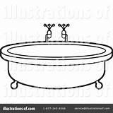 Tub Clipart Clip Bath Bathtub Illustration Lal Perera Royalty Rf Webstockreview sketch template