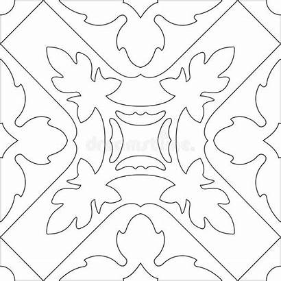 Coloring Unique Adults Square Adult Seamless Pattern