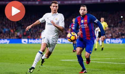 Barcelona - Real Madrid Full match ~ Барселона - Реал Мадрид полный матч - YouTube