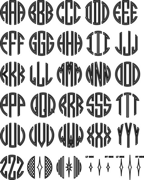 circle monogram fonts awesome art pinterest circles crafting  awesome