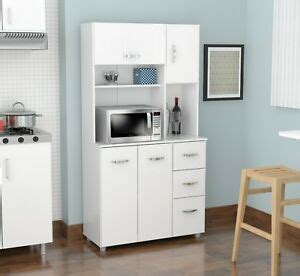 kitchen storage cabinet microwave stand island hutch