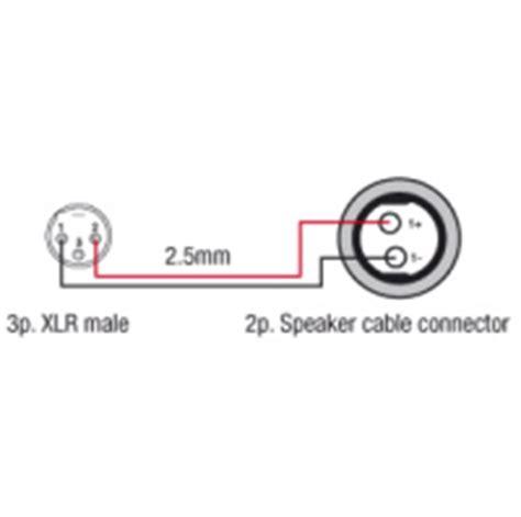 cable speakon female xlr male sound 7