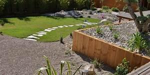 amenagement d39un jardin paysager avec piscine avignon With ordinary jardin paysager avec piscine 6 creation