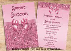 custom handmade blue silver glitter quinceanera With sweet sixteen program template