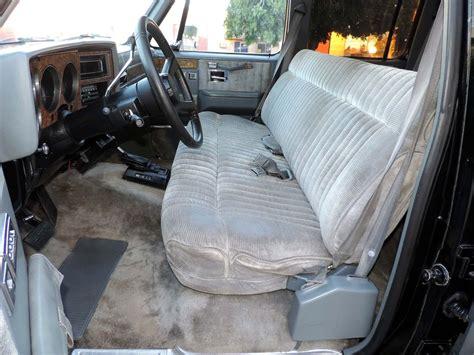 silverado bench seat 1990 chevy gmc suburban interior colors