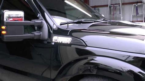 f250 light up emblems 2012 f 350 superduty recon led illuminated emblems side
