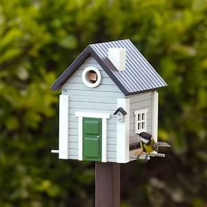 vogelhaus graues haus wildlife garden vogel und With katzennetz balkon mit wildlife garden vögel