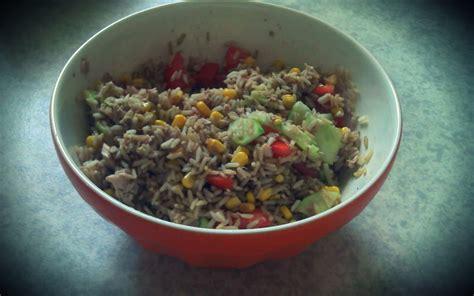 cuisine salade de riz recette salade de riz pas chère et rapide gt cuisine étudiant