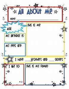 Star student all about me worksheet by miss bliss tpt for About me template for students