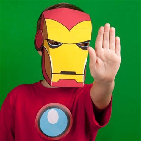 iron man inspired mask disney family
