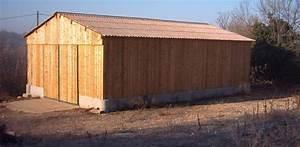 Hangar En Kit Bois : hangar de stockage paille ou foin ou mat riel roin ~ Premium-room.com Idées de Décoration