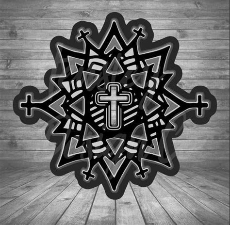 Although i find them very beautiful, i wondered what use to give them. 3D Cross Mandala SVG in 2020 | Mandala