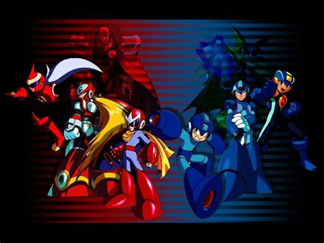 Megaman And Protoman Wallpaper Wallpapersafari