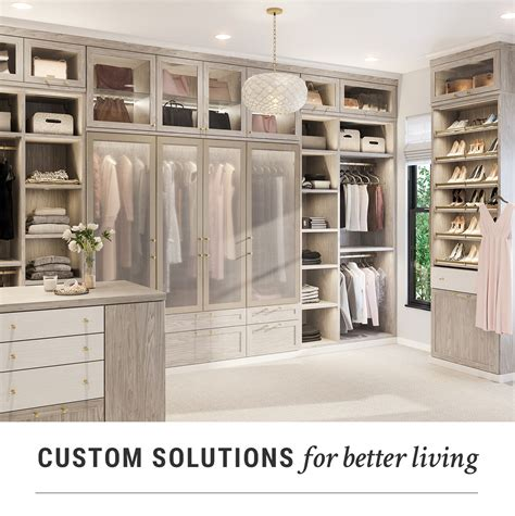 custom closet systems home storage closet designs