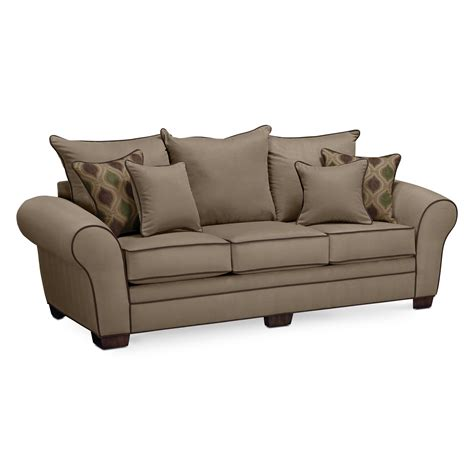 value city furniture recliner sofas rendezvous sofa value city furniture
