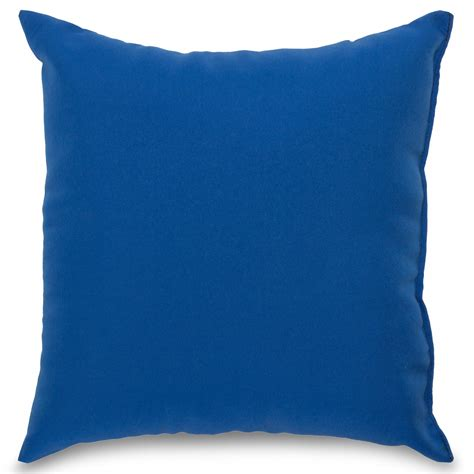 blue and throw pillows royal blue outdoor throw pillow dfohome