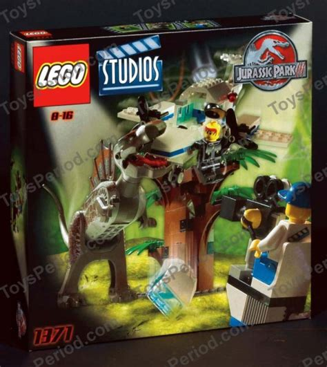 lego  spinosaurus attack studio set parts inventory
