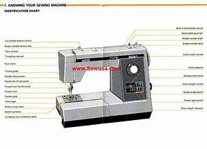 Kenmore Model 17891 Sewing Machine Instruction Manual
