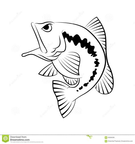 How To Draw A Bass Boat Step By Step by Bass Fishing Drawings Www Imgkid The Image Kid Has It