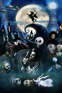 Tim Burton Characters by MrCrazyDragonpenguin.deviantart ...