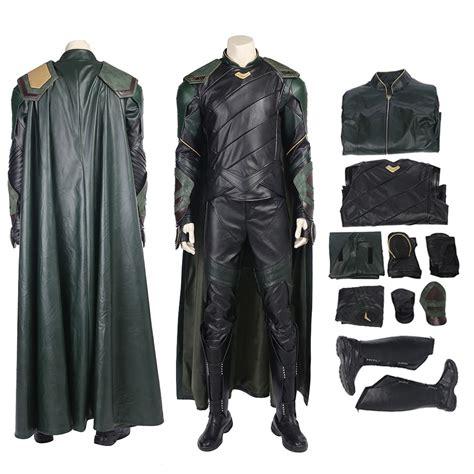 Loki Cosplay Costume Thor Ragnarok Deluxe Edition