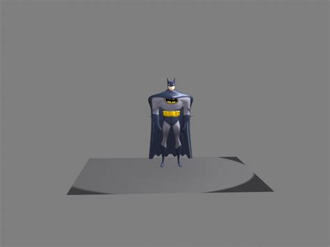 Animated Batman In 3d By Warcade On Deviantart
