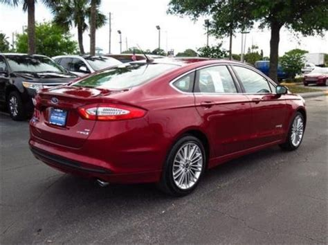 Sell New 2014 Ford Fusion Hybrid Se In 10715 Us Highway 19