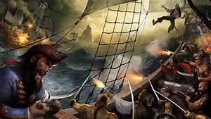 Pirates Ship War Artwork Fantasy Art Wallpapers HD
