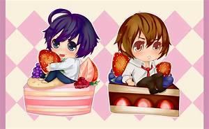 Death Note: Cake Chibi Set by Aeirus on DeviantArt