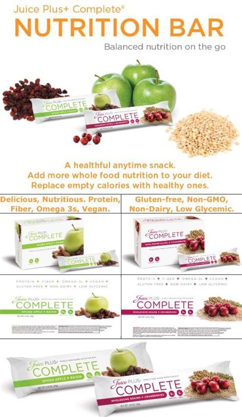 Complete Bar by 109 Best Juice Plus Whole Foods Images On