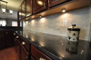 Kitchen Backsplash Ideas With Black Granite Countertops Granite Countertops And Tile Backsplash Ideas Eclectic Kitchen Indianapolis By Supreme