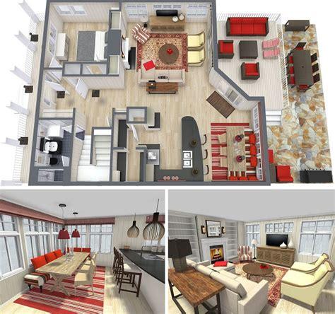 3d Interior Design For House  Home Deco Plans
