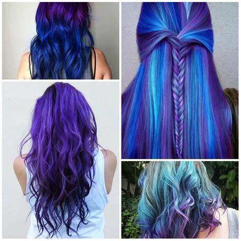 Sensational Blue Purple Hair Colors For 2017 Best Hair