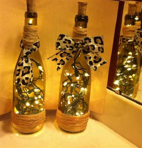 decorative wine bottle lights  drilling