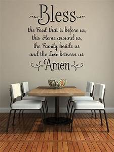 25 best ideas about dining room wall art on pinterest With kitchen colors with white cabinets with family wall art quotes