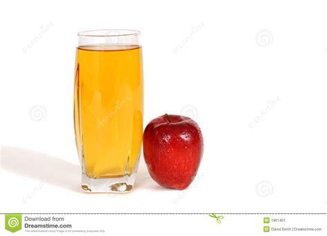Glass of apple juice stock image. Image of nourishment ...