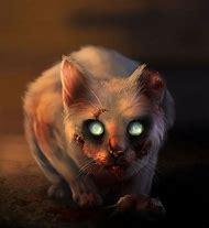 Scary Zombie Cat