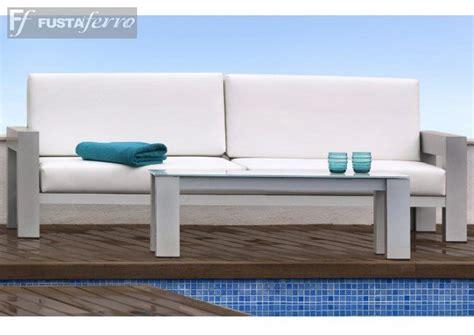 sofa  mesa de centro de aluminio muebles de jardin