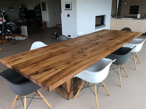 Tisch Aus Alten Balken Selber Bauen by Tisch Selber Bauen Aus Resten Baustellen Und Co